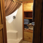 Upstairs Separate Shower
